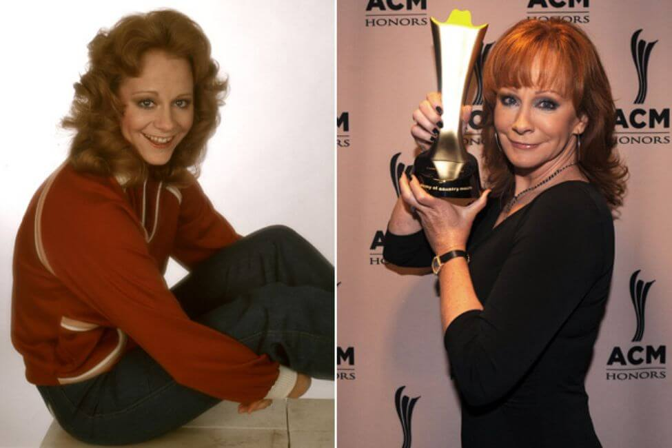 Reba McEntire – Then and Now