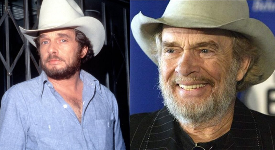 Merle Haggard – Then and Now