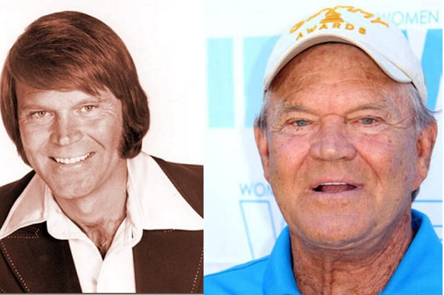 Glen Campbell – Then and Now