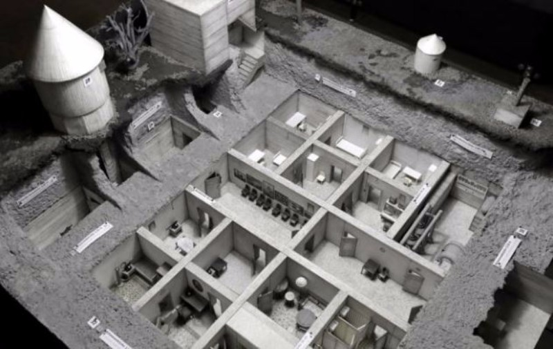 Hitler's Bunker Re-Created In Berlin