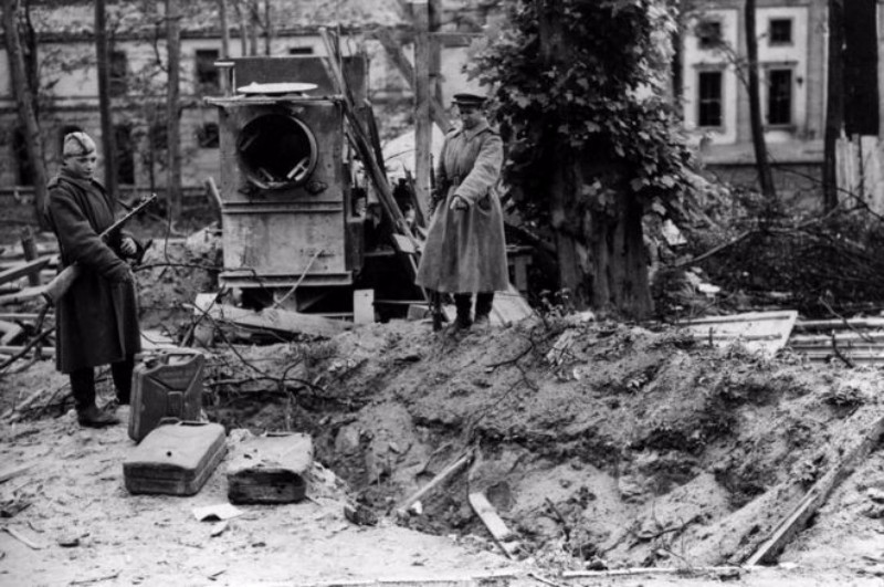 Hitler's Grave