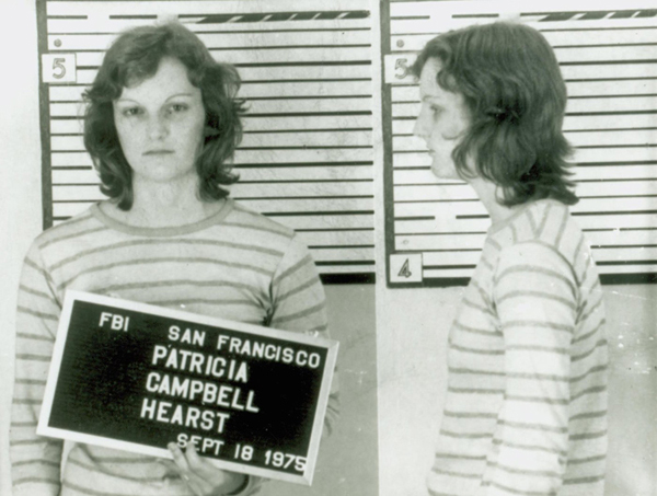 Patty Hearst Gets The Maximum Sentence