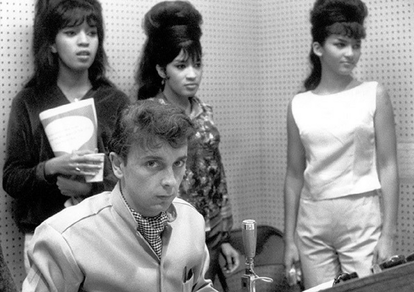 Phil Spector and The Crystals