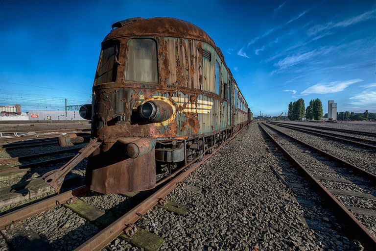 Photographer Finds Abandoned Orient Express Train