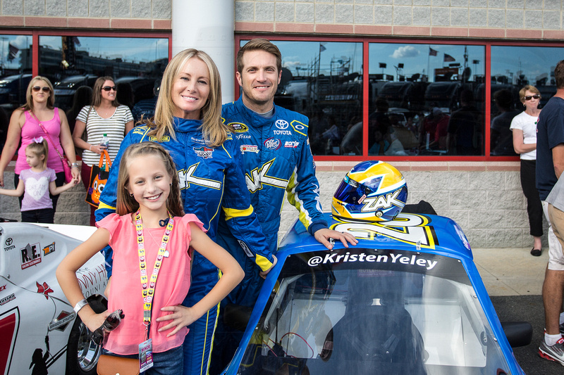 Kristen Yeley and JJ Yeley
