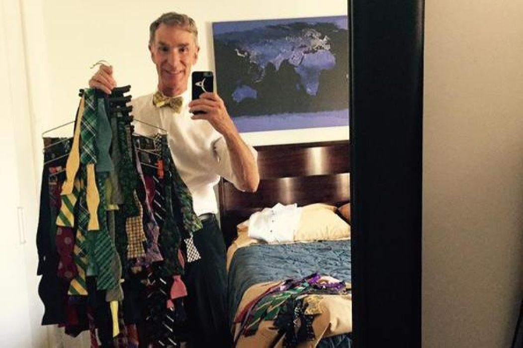 Wait, How Many Bow Ties Does Bill Nye Own?