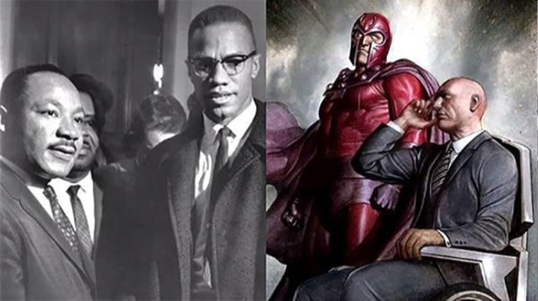 Professor X And Magneto Are Based On Malcolm X And Martin Luther King