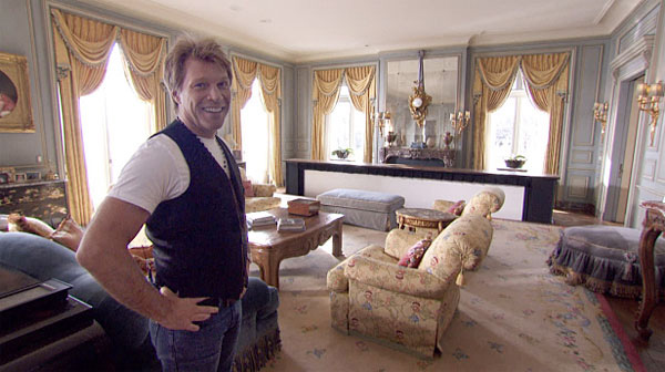 Jon Bon Jovi's Fancy Estate