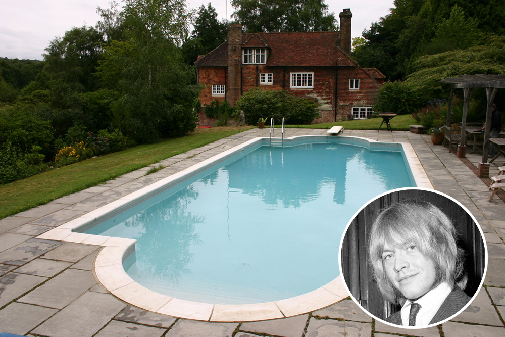 Brian Jones's House Used To House A Happy Bear