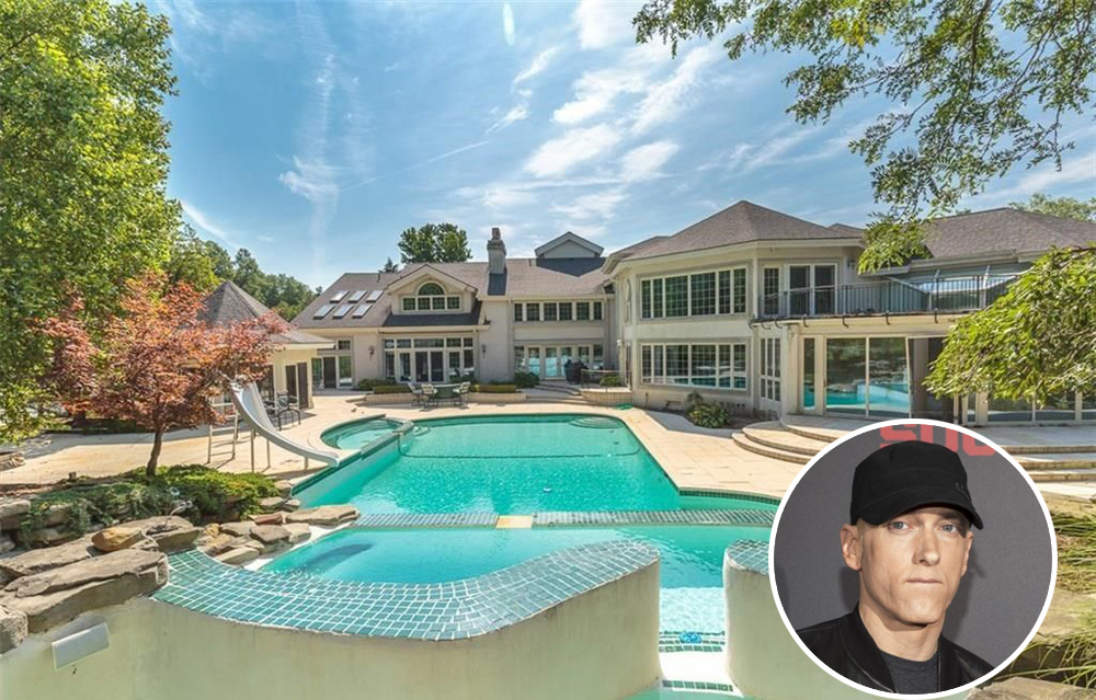 Eminem's Michigan Mansion