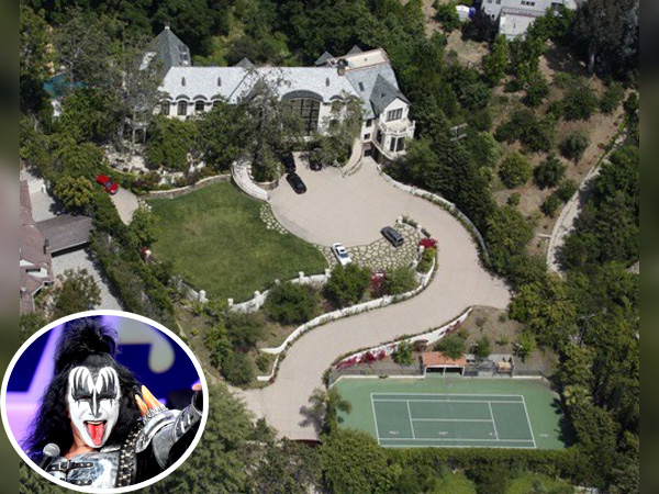 Home Of Gene Simmons And His Family Jewels