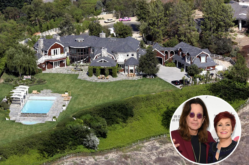 Ozzy Osbourne's Is Hidden In The Hills