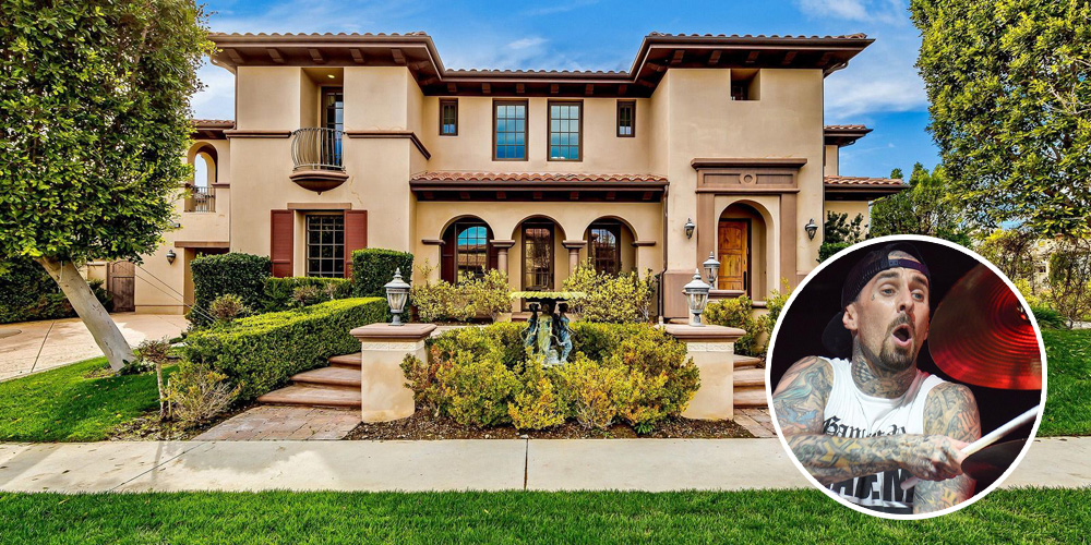 Travis Barker's Los Angeles Living