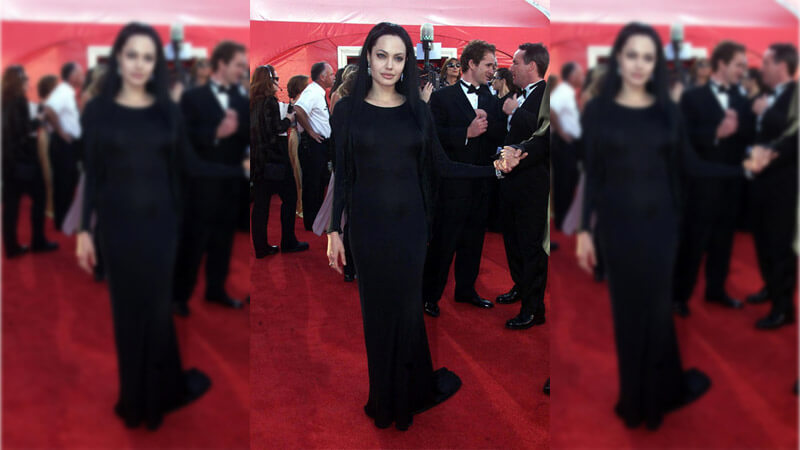 Angelina Jolie's Goth Side