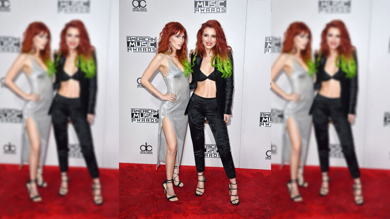 Dani and Bella Thorne's Red Carpet Miss