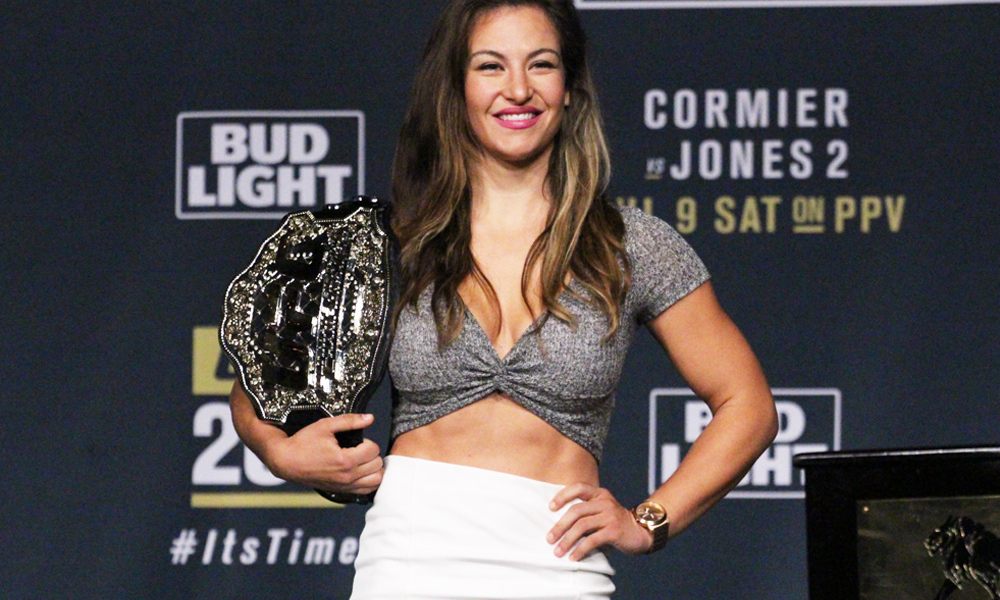 "Miesha Tate Was Known As ""The Takedown"" For Good Reason"