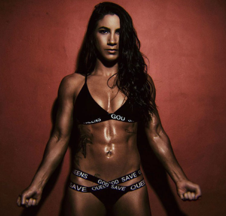 "Tecia Torres Is ""The Tiny Tornado"""