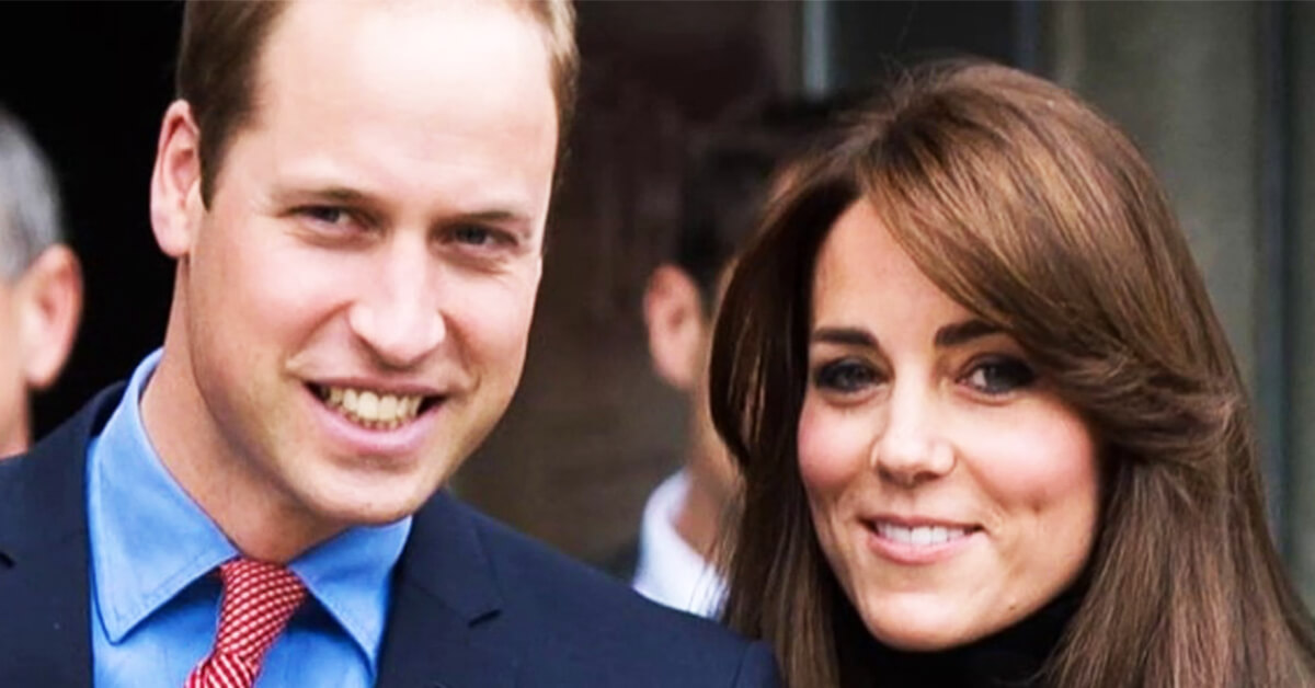 Kate Middleton and Prince William – $41 Million