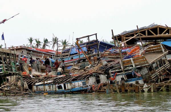 Cyclone Nargis, 2008