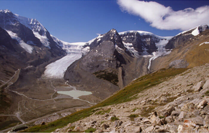 The Athabasca Glacier: Now