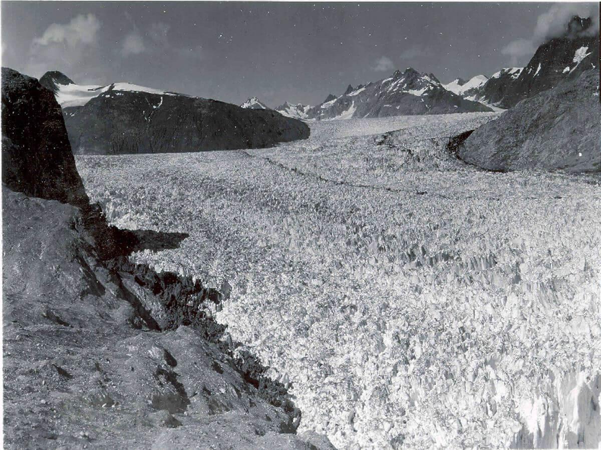 Muir Glacier: Then