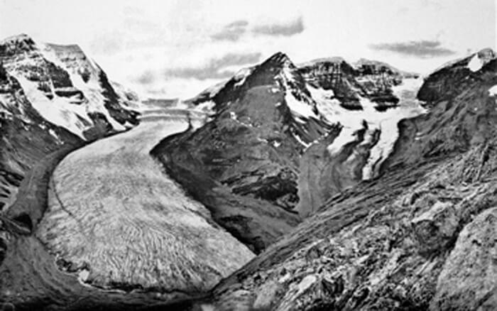 Athabasca Glacier: Then