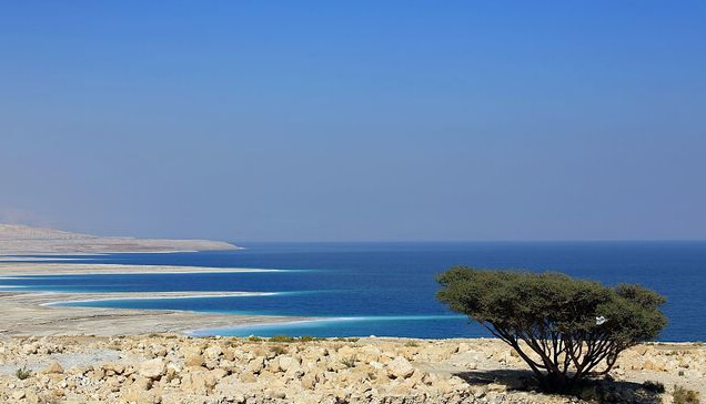 The Dead Sea: Then