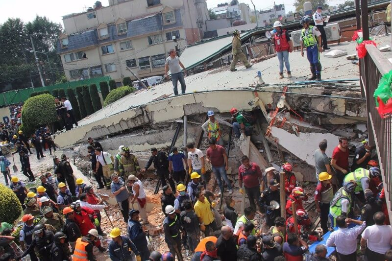 Mexico Hit By Double Disasters
