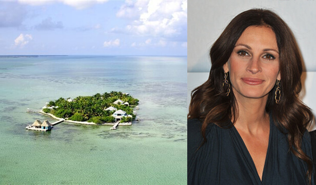 Julia Roberts' Piece Of Paradise