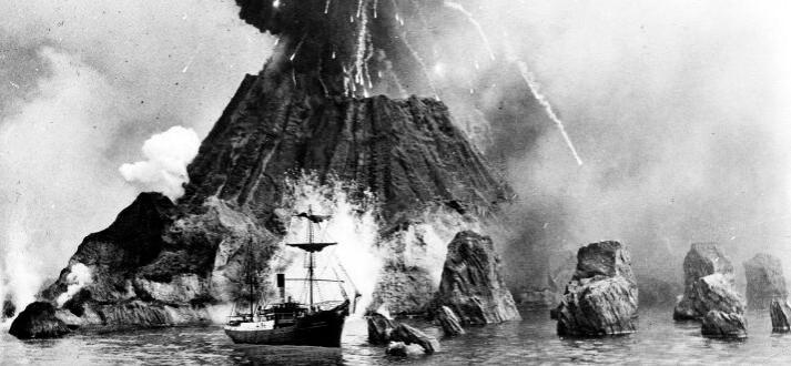 Eruption of Krakatoa, 1883