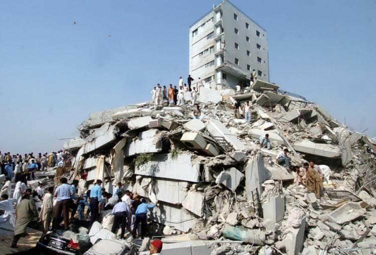 Kashmir Earthquake, 2005