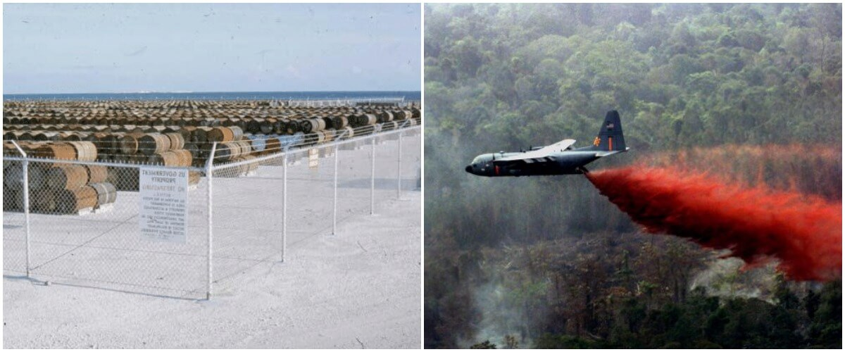 Johnston Atoll Is Where Agent Orange Is Disposed