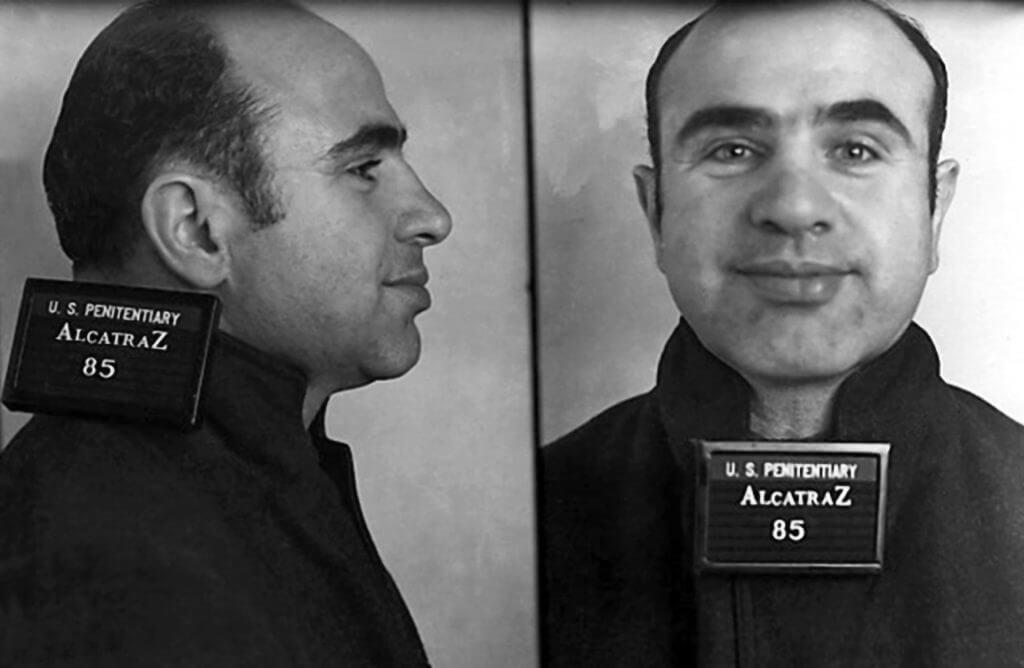 Capone Was One Of Alcatraz's Notorious Prisoners