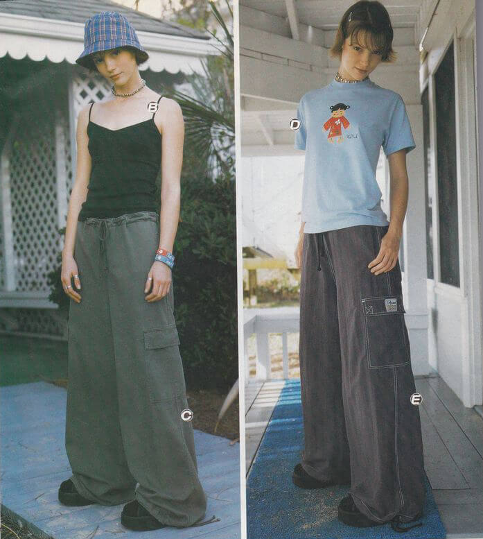 Both Men and Women Wore Pipe Pants