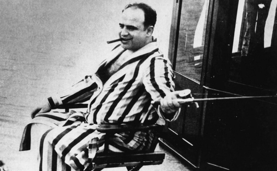 Capone Disappeared From Public Life