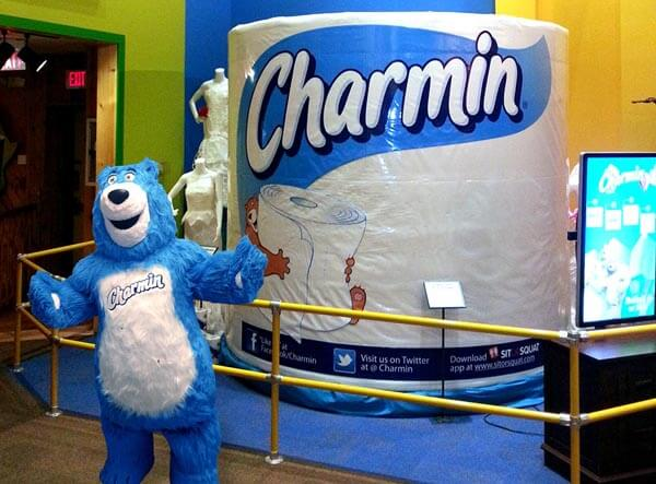 Charmin Made The World's Largest Roll Of Toilet Paper