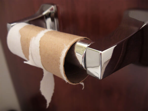 This Caused An Actual Toilet Paper Shortage