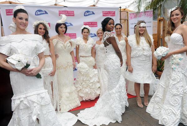 The Toilet Paper Wedding Dress