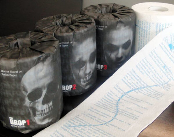 The Toilet Paper That Will Literally Scare The Stuff Out Of You