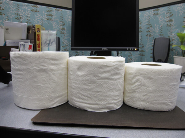 You're Not Crazy, Toilet Paper IS Getting Smaller
