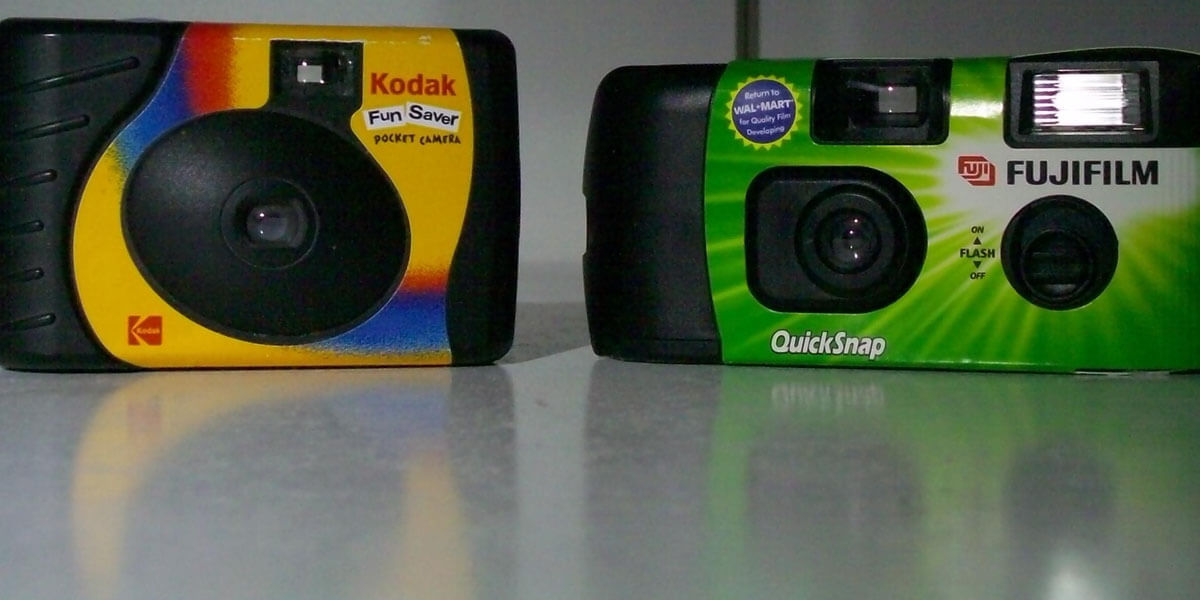 Disposable Cameras Were The Go-To