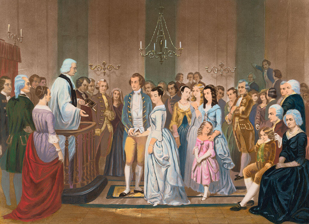 America's First Presidential Marriage