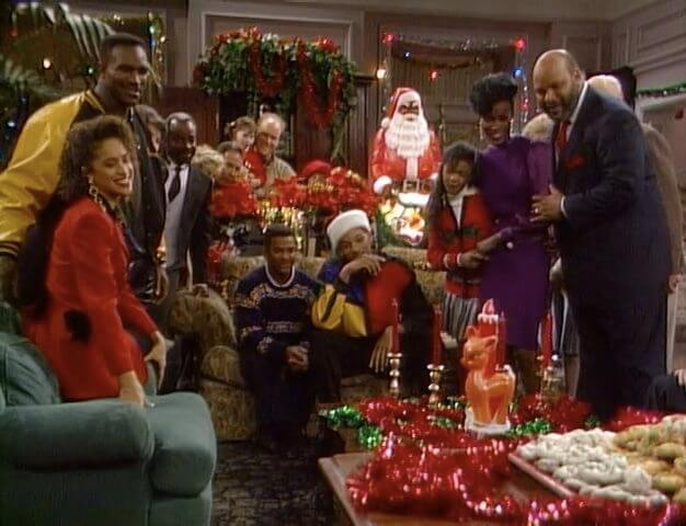 "The Fresh Prince of Bel-Air, ""Deck the Halls"""
