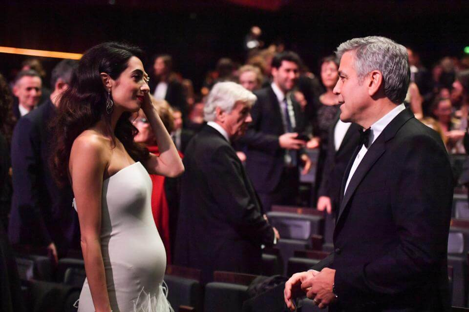 George and Amal Welcome Twins