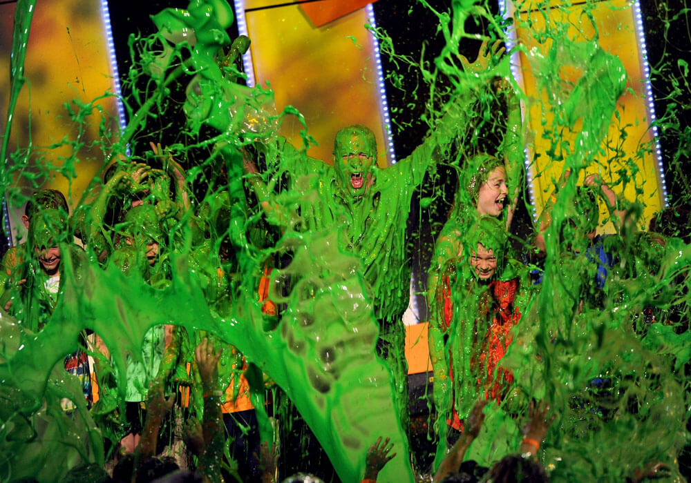 Nickelodeon Couldn't Get Enough Of Slime