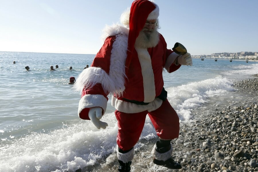 You've Gone to the Beach On Christmas