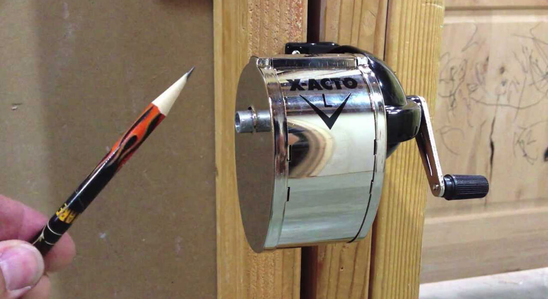 Ah, Yes. The Pencil Sharpener