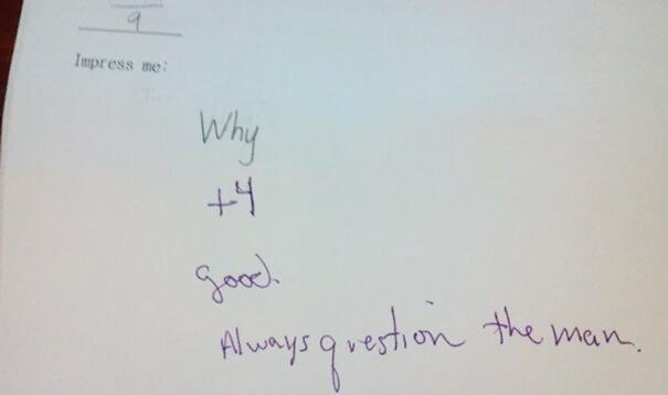 This Teacher Is Over Giving A Damn