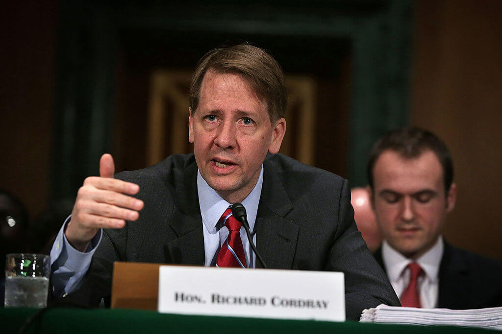 Richard Cordray, Director Of Consumer Financial Protection Bureau (Resigned)
