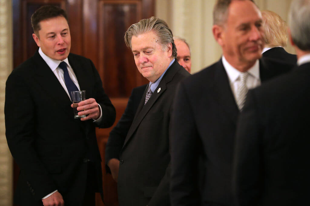 Elon Musk, CEO Of Tesla & SpaceX (Left Advisor Role Over Paris Climate Agreement Withdrawal)